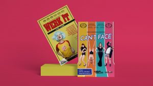 'Werk It' and 'Can't Face' Posters for Circus Trick Tease