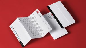 Corporate stationery for Motion Asia Pacific