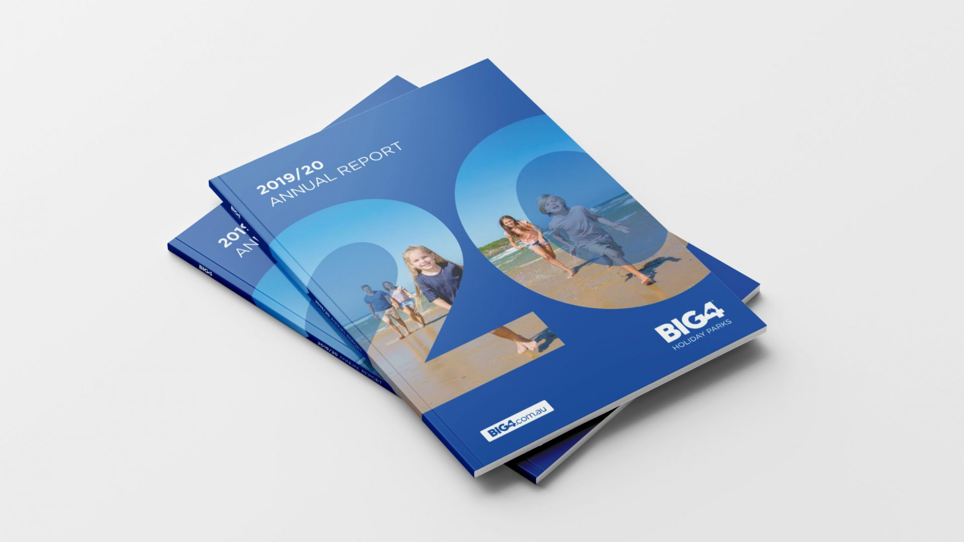 2019/20 Annual Report Cover for BIG4