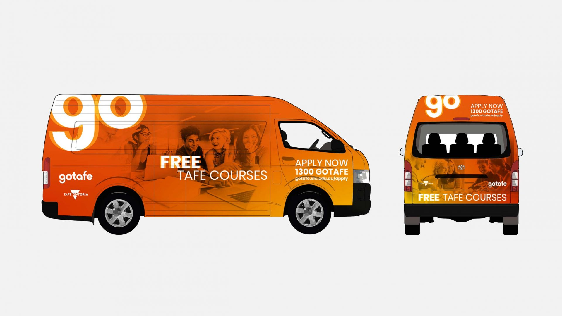 Van design for gotafe