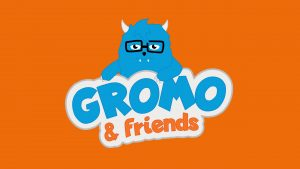 character development and logo design for 'Gromo & Friends'