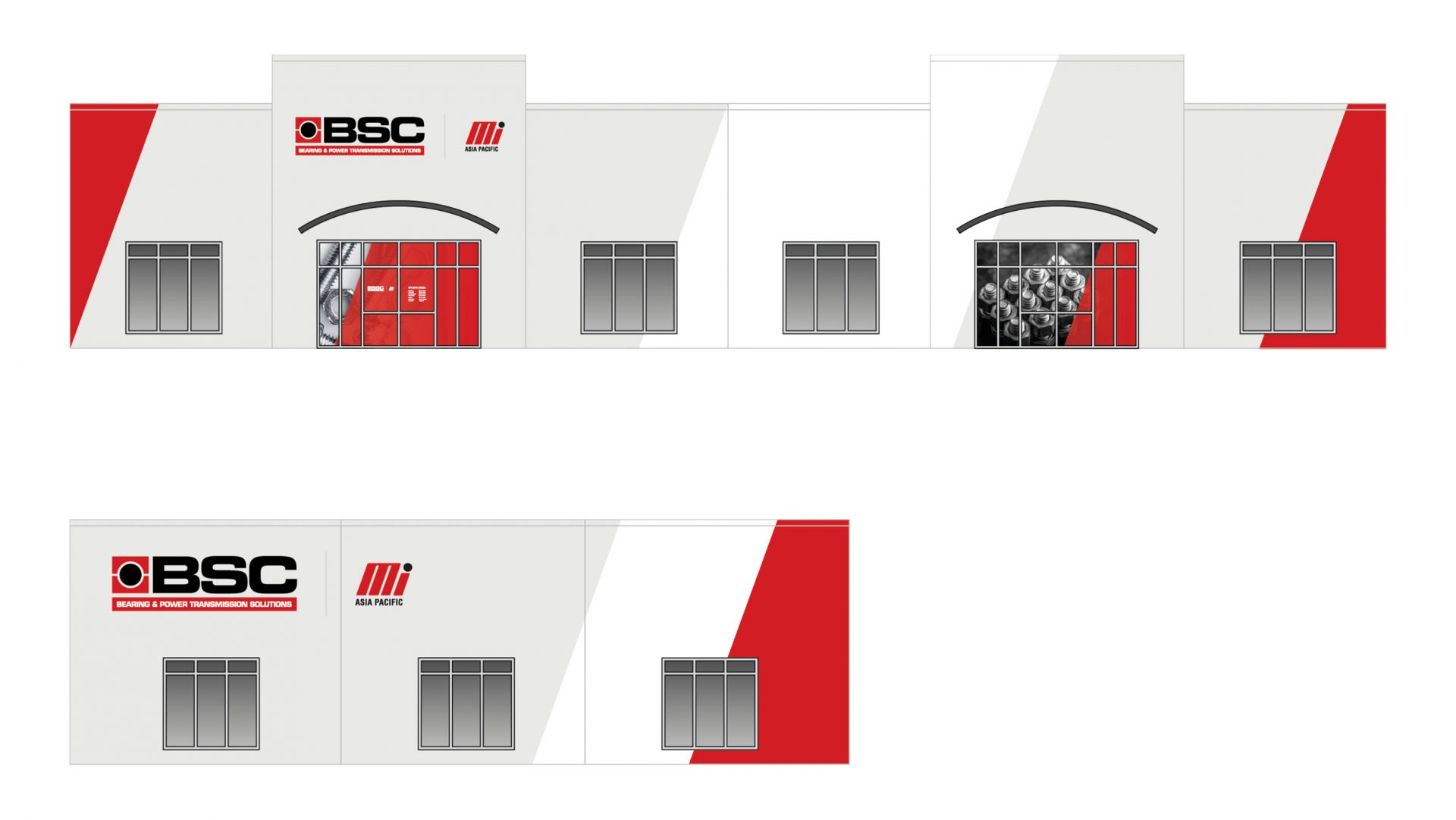 BSC signage for new buildings
