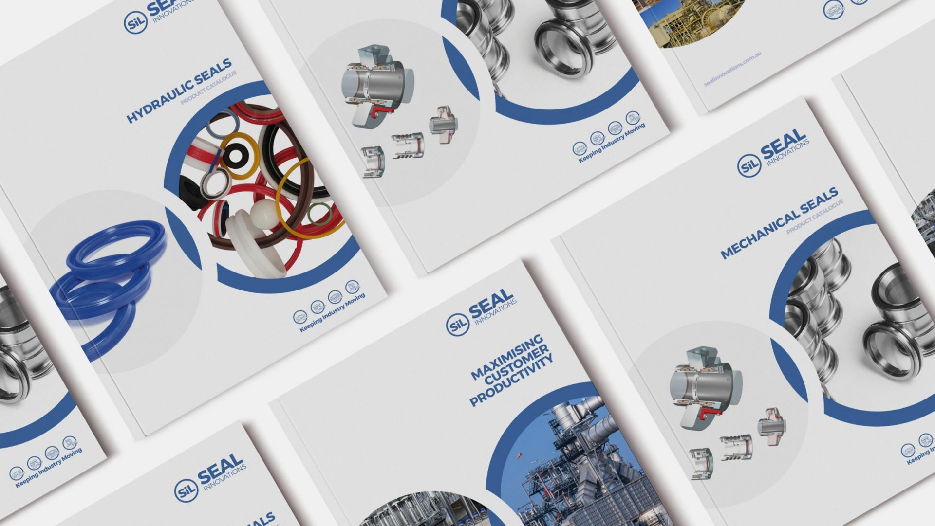 Brochure Covers for Seal Innovations