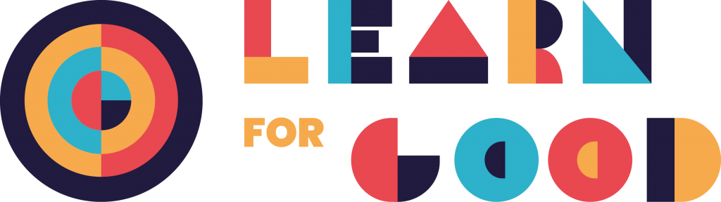 Learn For Good Company logo with icon